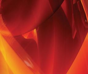Red and orange design