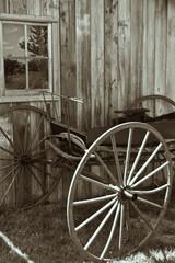 Vintage Horse Buggy Wagon