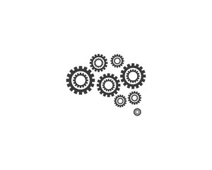 Brain logo illustration