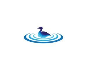 Duck logo illustration