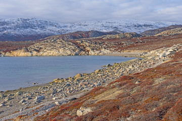 Quiet Cove in the High Arctic