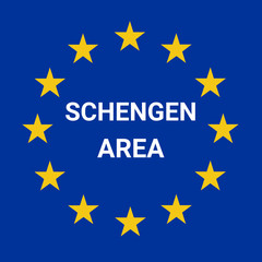Schengen area symbol