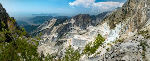 Marble quarry in Carrara Wall mural