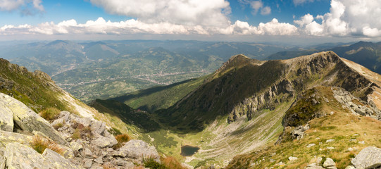 View from Pietrosul