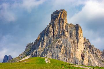 Ra Gusela peak, Dolomites, Italy.
