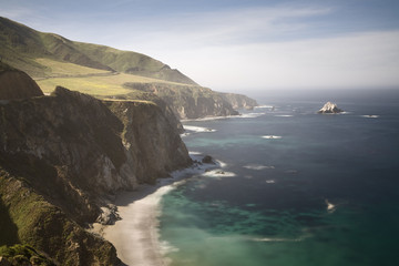 Big Sur coastline near Bixby Creek Bridge