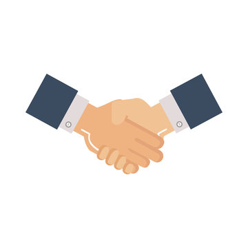 business hands done deal
