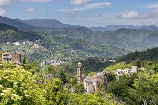 Castagniccia region, Corse