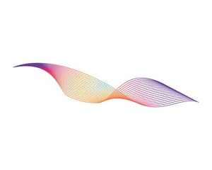 wave background for business