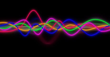 ondes son fréquence audio musique