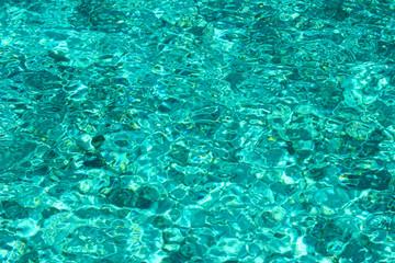 透き通った水面