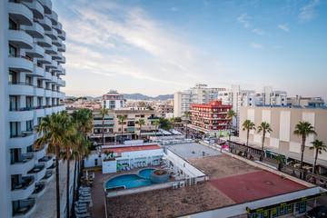 Fotobehang Algerije Cala Millor Rooftop
