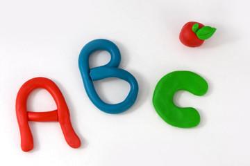 ABC  concept baby