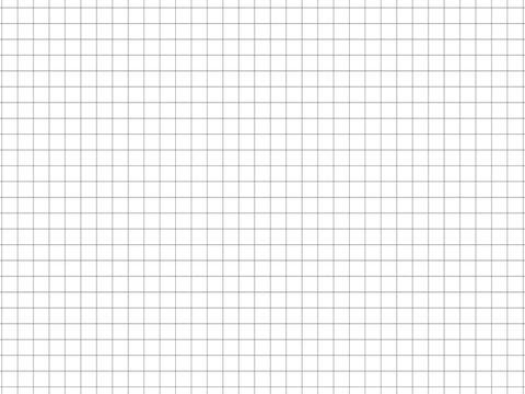Papierblatt mit Karos Vektor Illustration isoliert auf weißem Hintergrund