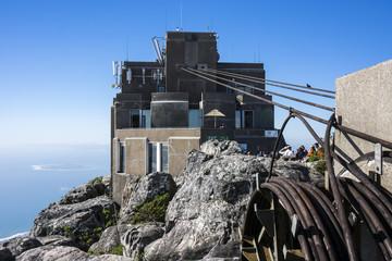 Bergstation der Tafelbergbahn in Kapstadt