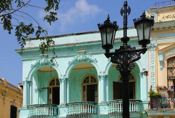 Havana, Architecture, Paseo de Marti, Street Lamp