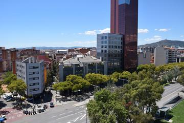 Edificios en Barcelona ciudad