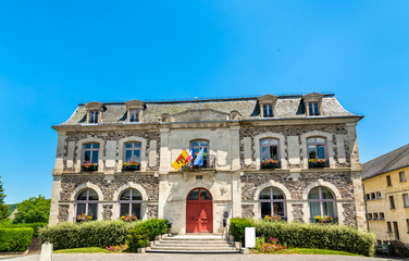 Town hall of Riom-es-Montagnes, France