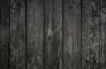Old gray wooden wall, background photo texture