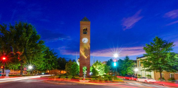 Downtown Spartanburg SC South Carolina
