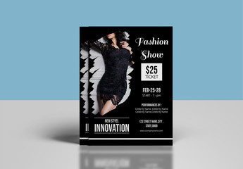 Fashion Show Flyer Layout
