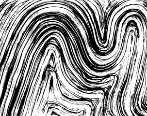 Brush pattern. Grunge background. Vector.