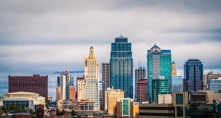 Kansas City skyline Rich Look Wall mural