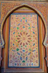 Beautiful traditional doods in Marrakesh, Morocco