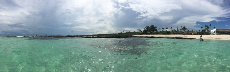 Wall Murals Island Playa en el Caribe Mexicano