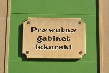 Fototapeta Prywatny gabinet lekarski obraz
