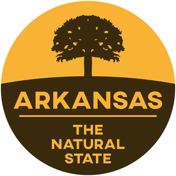 arkansas: the natural state | digital badge