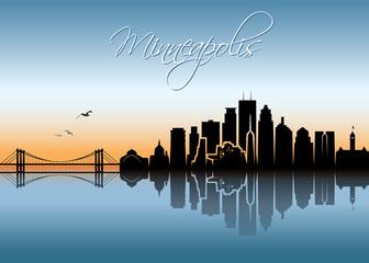 Minneapolis skyline - Minnesota