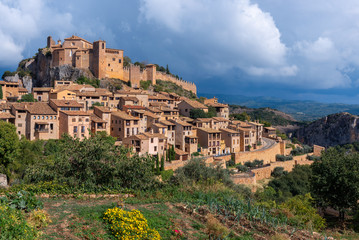 Alquezar, a beautiful medieval village in Huesca, Spain