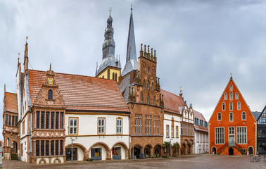 Fotomurales - Market Square of Lemgo, Germany