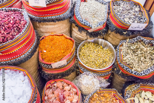 Spice souk at World Trade Center Mall, Emirate of Abu Dhabi, United