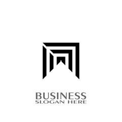 Logo design, networking logo.