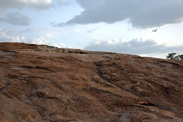 ROCK VIEW IN LALBAGH