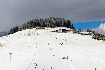 Skifahren in Österreich / Wilder Kaiser