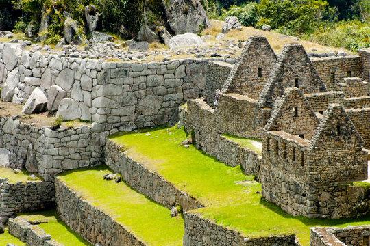 Old Machu Picchu Ruins - Peru