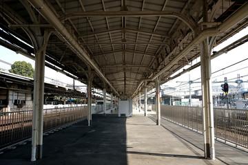 上野駅 京浜東北線と山手線ホーム