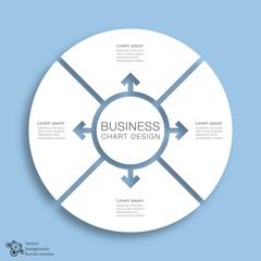 Fototapeta Business Chart Design #Vector Graphics obraz
