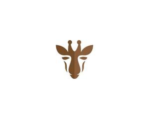 Giraffe  logo illustration