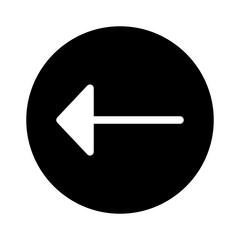 Left Arrow Direction Move Arrows vector icon