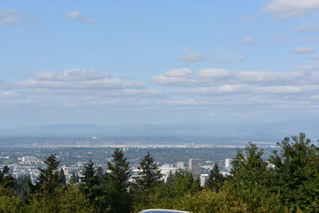 View of Portland, Oregon, from Council Crest Park