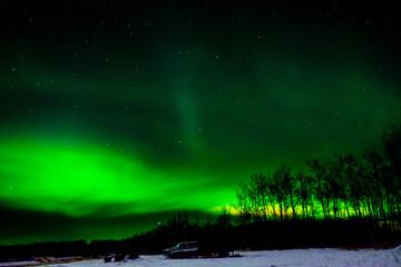 Northern Lights, Meadow lake, Saskachuwan, Canada
