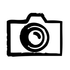 Photo Camera News Report Business Journalist Information vector icon
