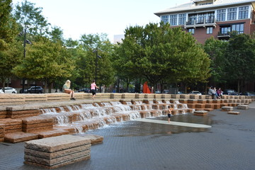 Jamison Square in Portland, Oregon