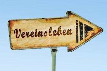 Schild 328 - Vereinsleben