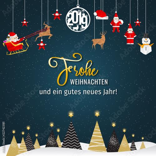 Frohe Weihnachten Download.Frohe Weihnachten Weihnachtskarte Stock Image And Royalty Free
