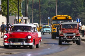 Havanna, Streetlife, Old Cars, People